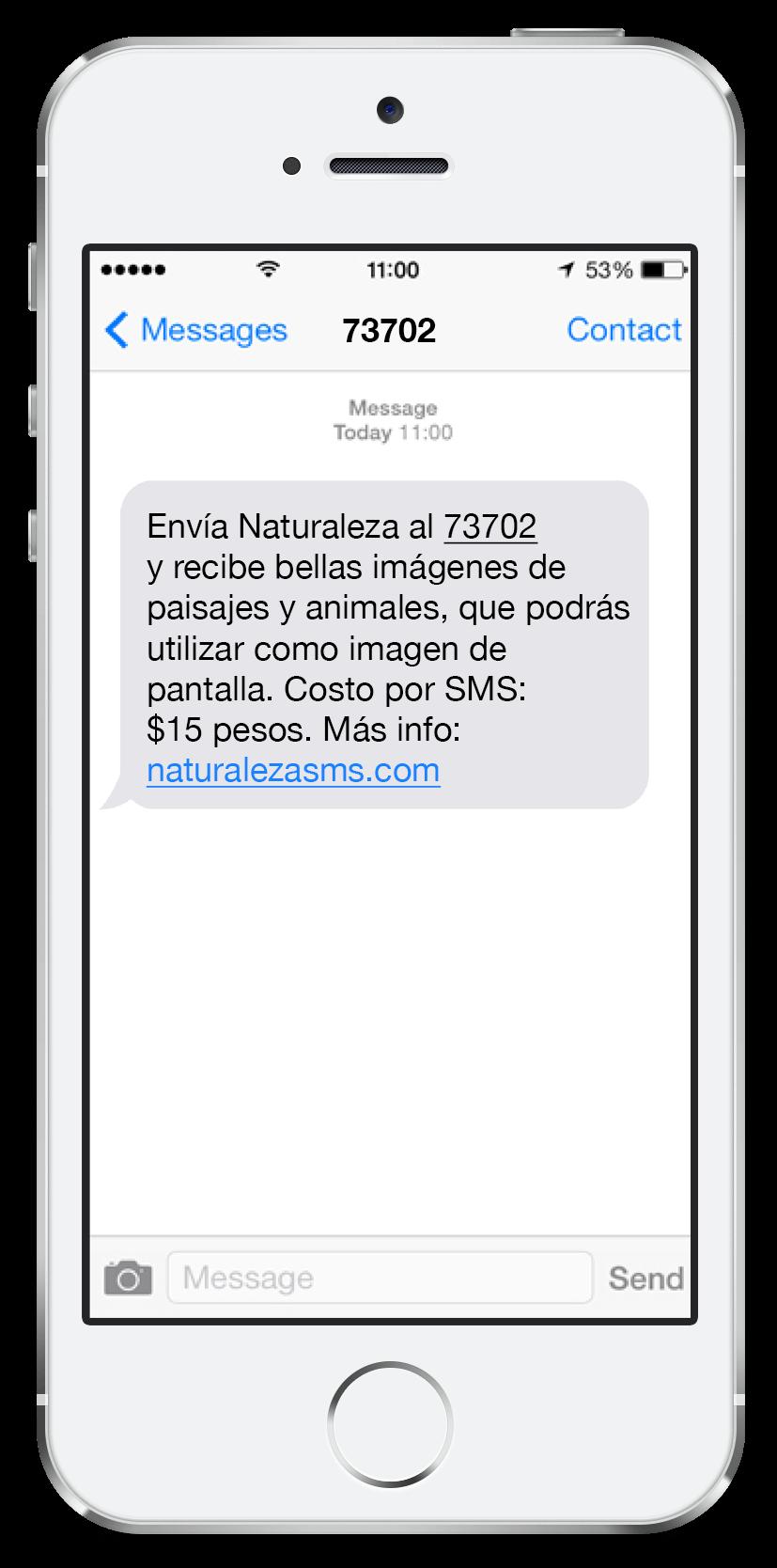 Mensaje SMS Premium 4